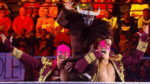 How does Los Matadores arrival affect the tag team division?