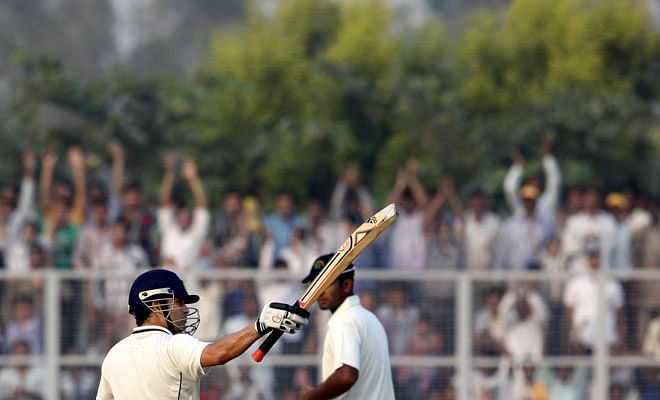 Sachin Tendulkar takes Mumbai to victory in Lahli