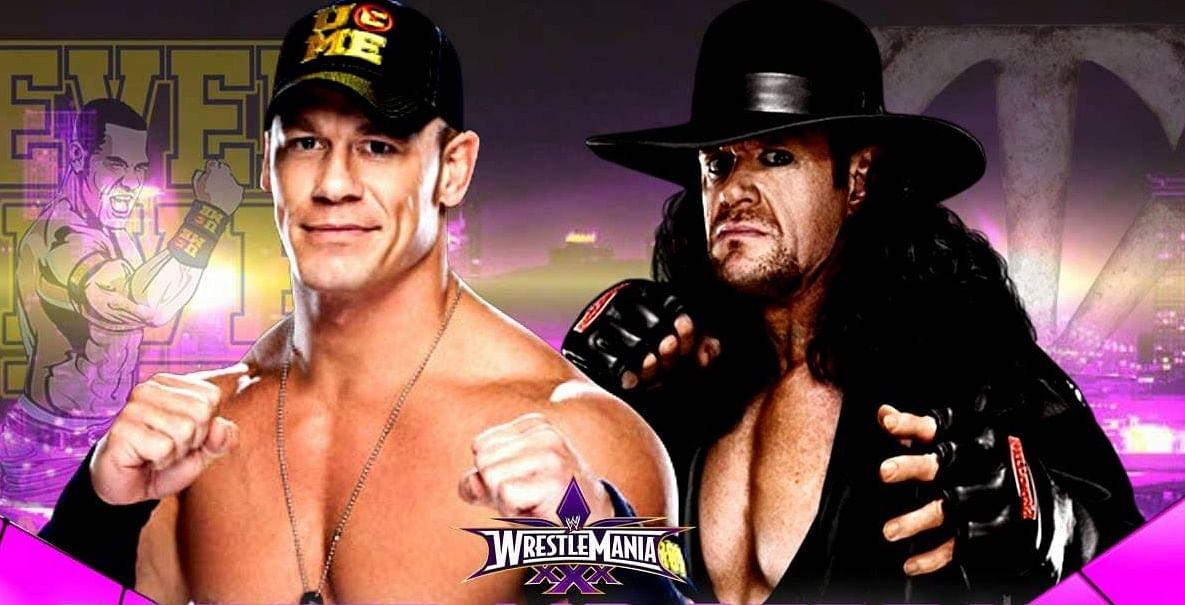 Undertaker Vs John Cena Wrestlemania 30 Possible reason...