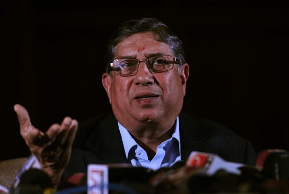 Srinivasan re-elected BCCI chief, but cannot take charge (Roundup)