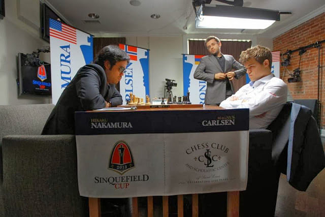 Carlsen is not going to India to hypnotise Anand, but to play good chess - Manager