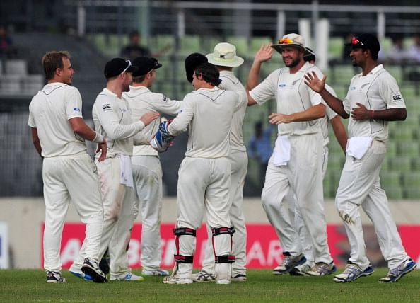 Bangladesh vs New Zealand: 2nd Test - Day 1: Late wickets give New Zealand the edge