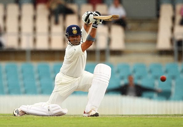 The Tendulkar cover drive.