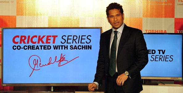 A special gold coin toss to be used for the toss in Sachin Tendulkar's final Test match