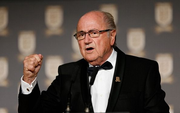 FIFA president Sepp Blatter faces the ire of Real Madrid
