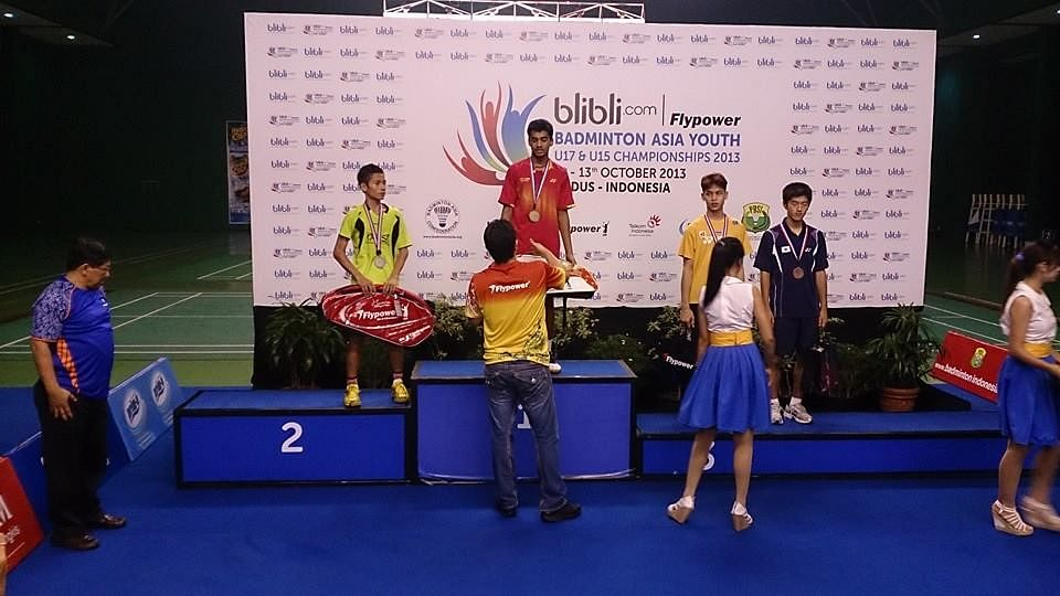 Indians win two gold at Asian Youth Badminton Championship