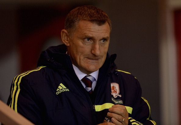 Middlesbrough manager Tony Mowbray resigns