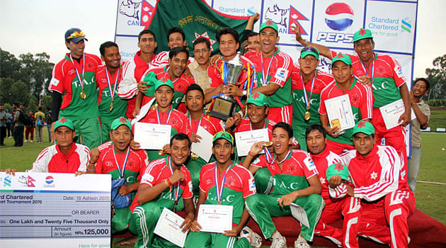 Tribhuvan Army Club crowned Nepal national T20 champions