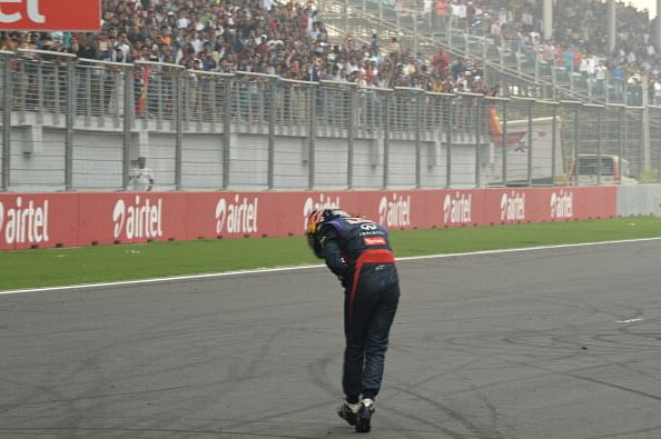 2013 F1 Indian GP: Victorious Vettel wins fourth World Championship title
