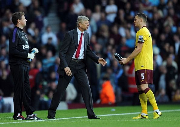 EPL: Arsene Wenger insists Thomas Vermaelen will stay