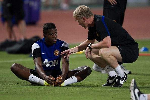 Manchester United's Wilfried Zaha to be sent on loan