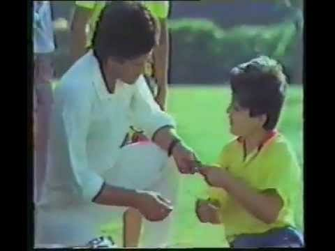 Video: Sachin Tendulkar's first TV commercial