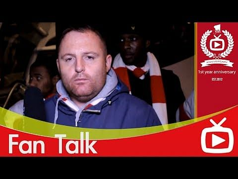 Video: Arsenal fan sees Stoke City in Manchester United