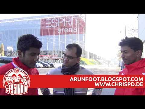 Exclusive video: Double interview with Nirmal Chettri and Godwin Franco after first Dusseldorf training