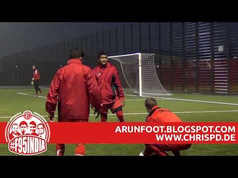 Exclusive Video: Footage of Nirmal and Godwin training at Fortuna Dusseldorf