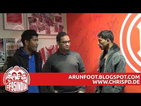 Exclusive VIDEO: Double interview with Nirmal Chettri and Godwin Franco at Dusseldorf training