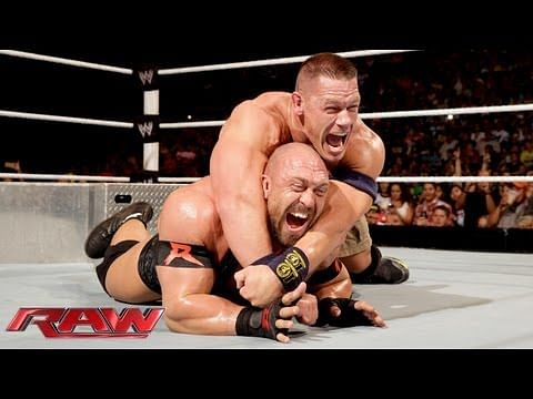 Video: John Cena vs. Ryback - Tables Match: Raw, July 29, 2013