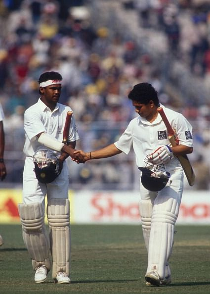 Vinod Kambli and Sachin Tendulkar - Friends no more?