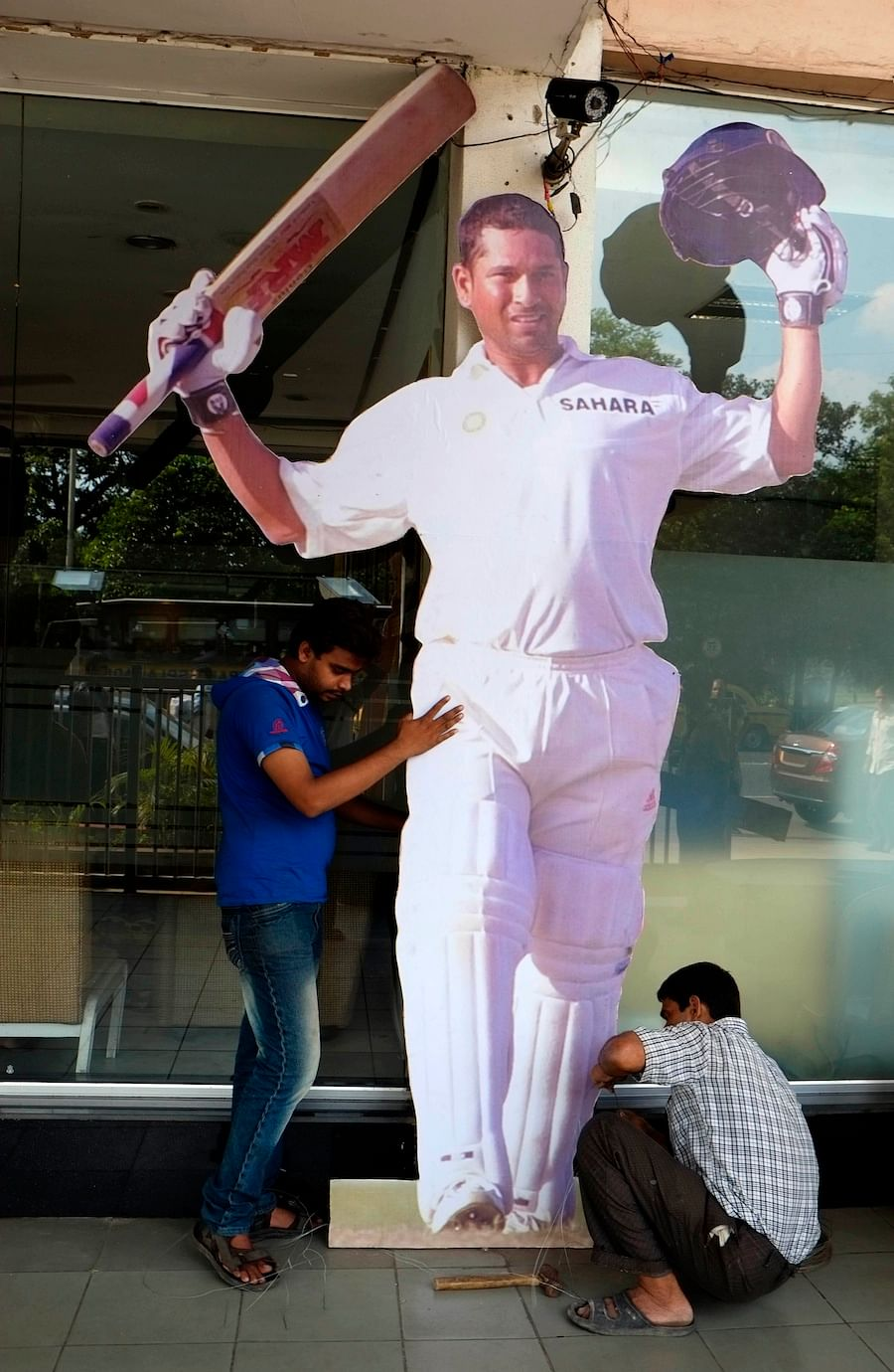 Sachin Tendulkar  tableau flagged off in Kolkata