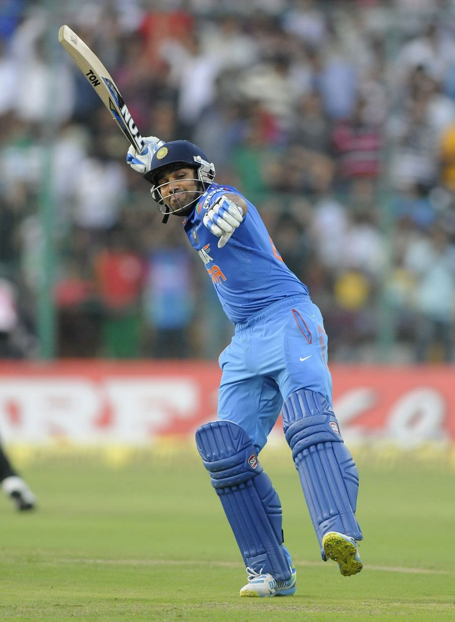 India v Australia 2013: Rohit Sharma becomes third Indian to score a double hundred in ODIs
