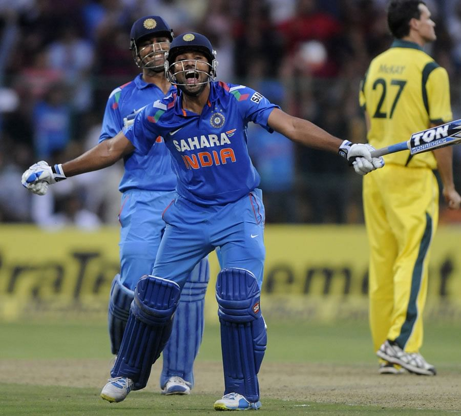India vs Australia 2013: Rohit Sharma blasts double hundred to help India clinch ODI series