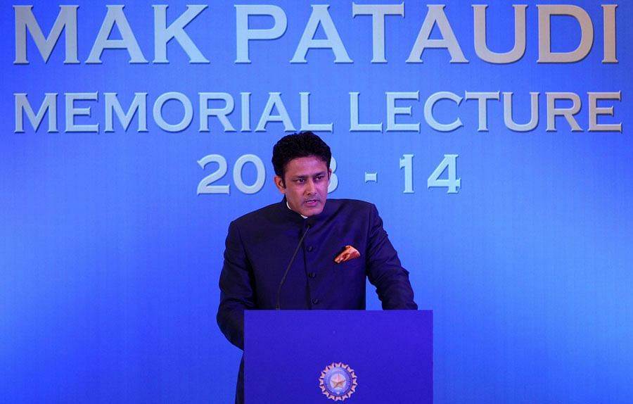 Anil Kumble reflects on India's sporting success at the MAK Pataudi Lecture