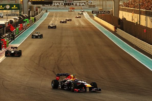 Abu Dhabi GP: Sebastian Vettel matches Michael Schumacher by making it seven in a row