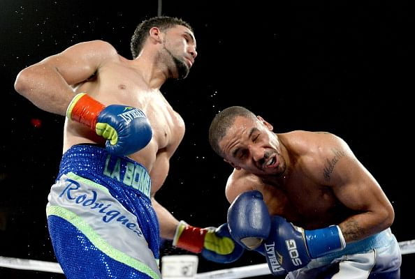 Andre Ward defeats Edwin Rodriguez in a comeback fight