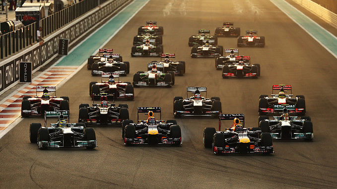 Top 5 Drivers of the Abu Dhabi Grand Prix