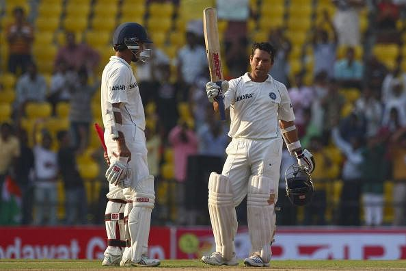 Top five partnerships involving Sachin Tendulkar