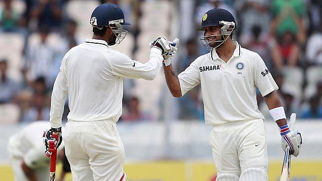Cheteswar Pujara and Virat Kohli