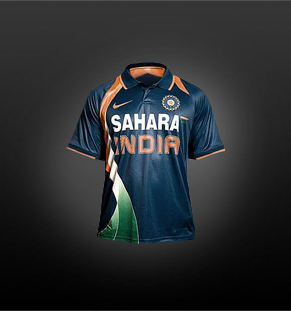 jerseys of indian cricket team