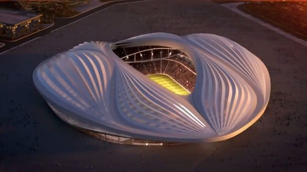 Controversy surrounds Qatar's new stadium for resemblance to female genitalia