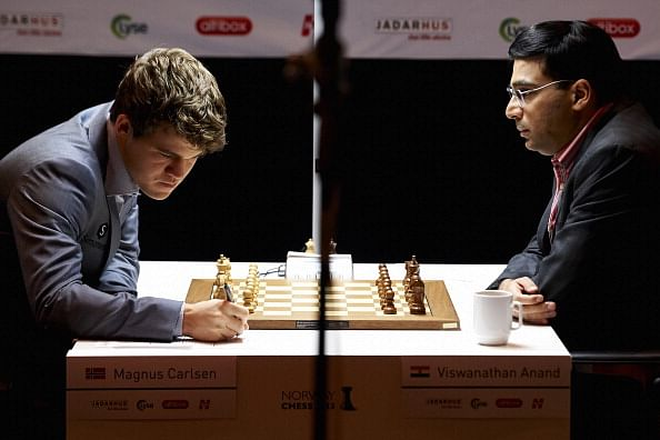 World Chess Championship: Magnificent Carlsen wins 9th game, takes three-point lead