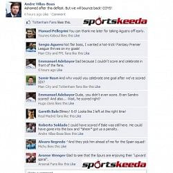 Fake FB Wall: Andre Villas-Boas updates his wall after 6-0 defeat to Man City