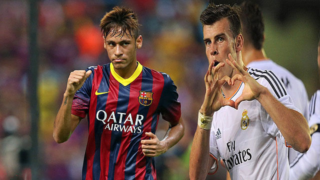 Neymar and Bale in the league of comparisons