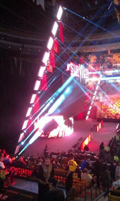 More photos of the WWE Survivor Series set