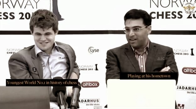 Official promotional video: World Chess Championship 2013 - Viswanathan Anand vs Magnus Carlsen