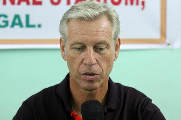 It's unfortunate that there is no telecast of the two friendlies – India coach Wim Koevermans