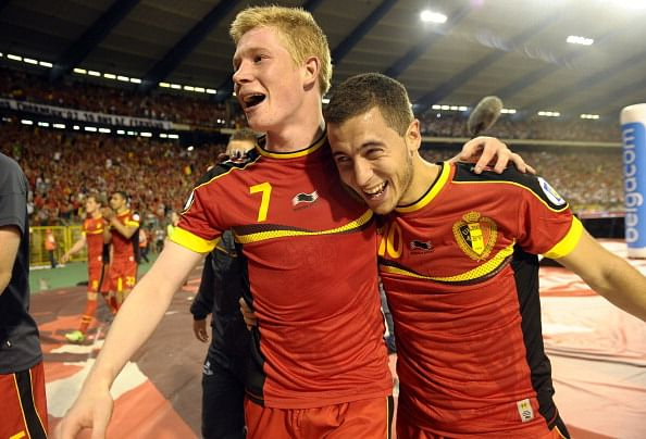 Hazard believes De Bruyne should leave Chelsea