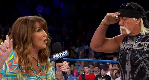 Dixie Carter Kiss If signing Hulk Hogan was
