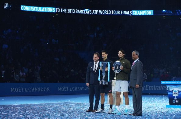 Djokovic, Nadal show down for Tour Finals title