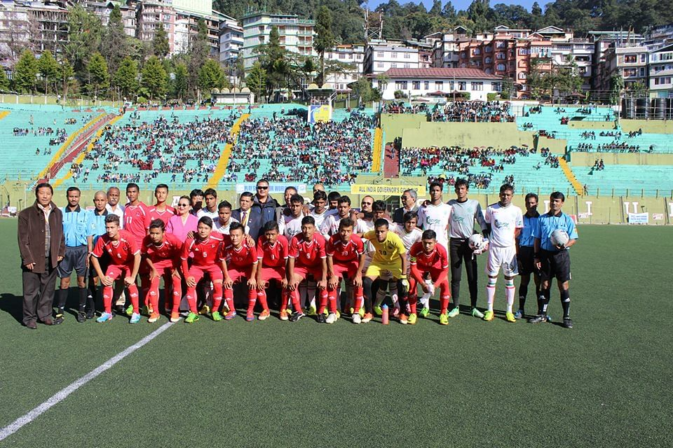 Governers Gold Cup Sikkim: Nepal U16 team beat Eastern Railways