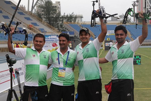 Asian Archery Championships: India upset Korea to take compound team gold