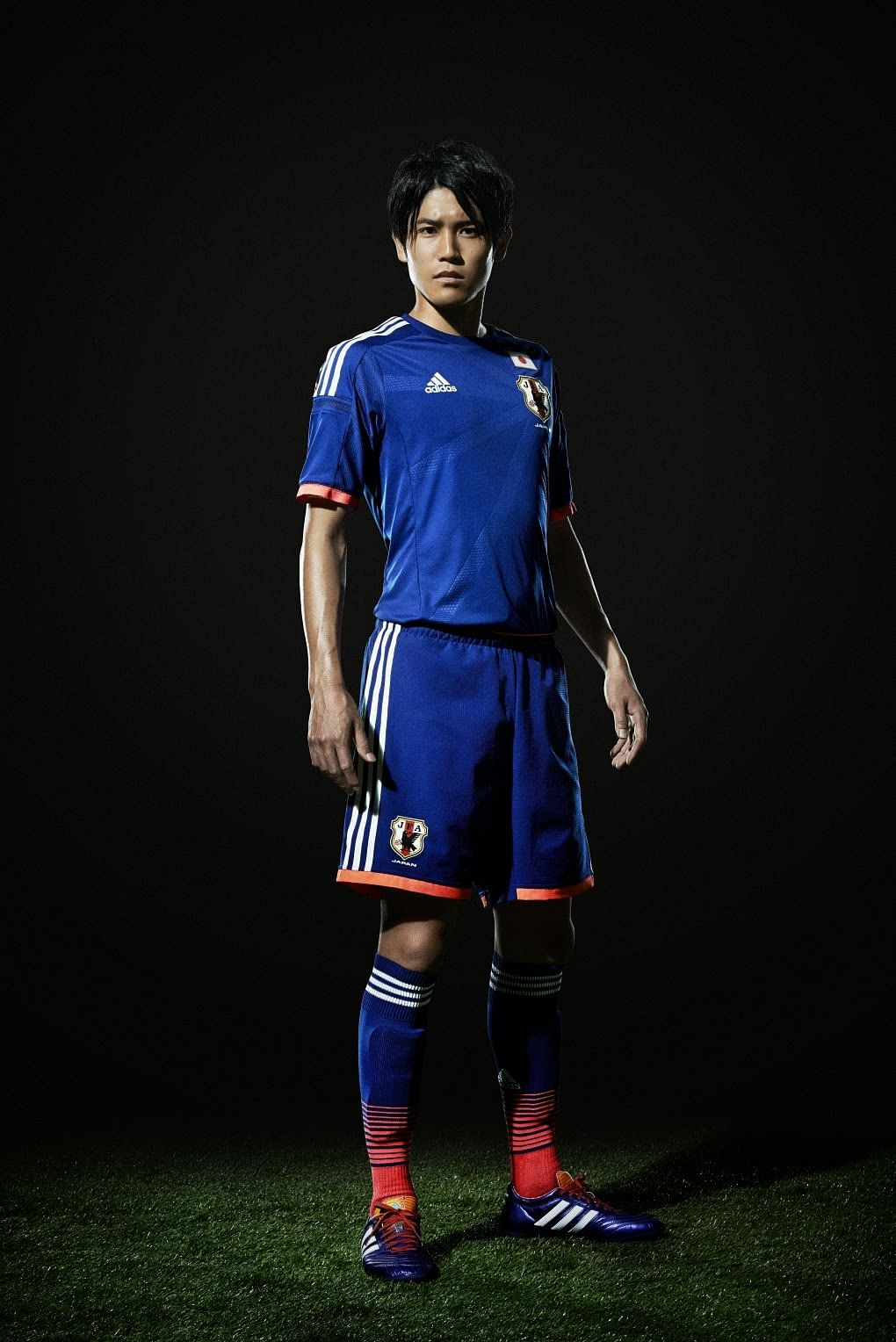 Adidas launch the Japan kit for 2014 FIFA World Cup