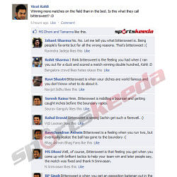 FB Wall: A bittersweet discussion among the Indian cricketers