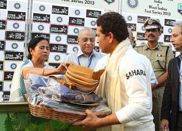 Sachin leaves behind mark of excellence: Mamata