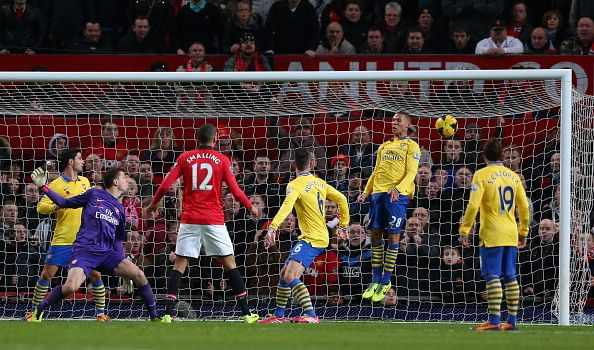 Manchester United 1-0 Arsenal: The Gunners have been put in their place