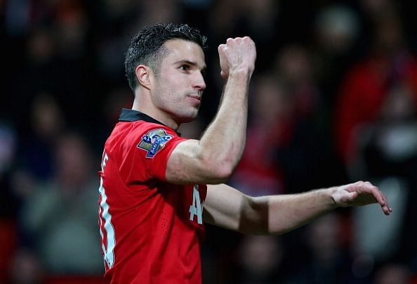 The significance of Robin Van Persie's celebration against Arsenal
