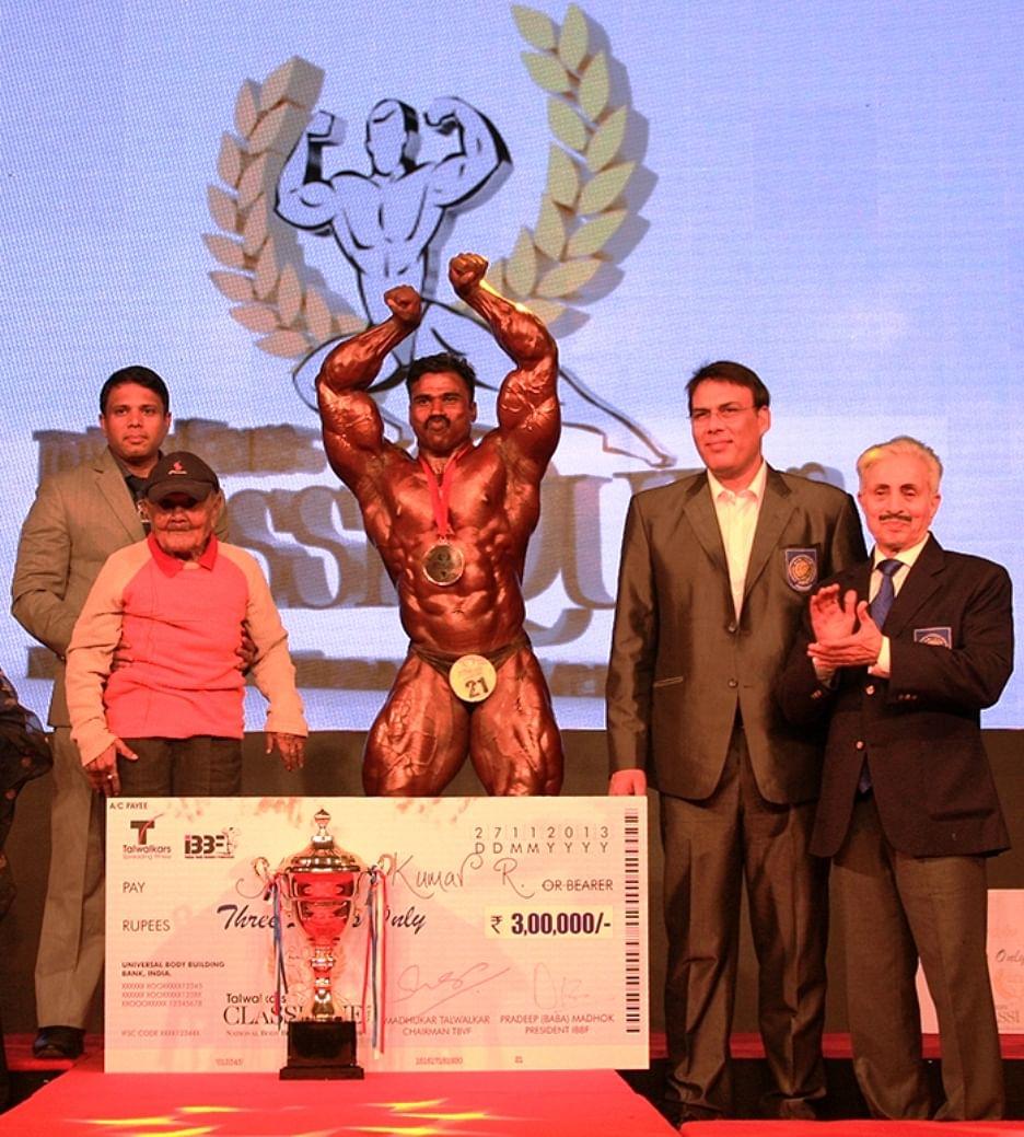Navy's Murali Kumar wins Talwalkar Classique National Bodybuilding Championship